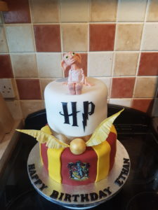 Harry Potter Dobby Cake