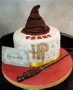 Sorting Hat Harry Potter Cake